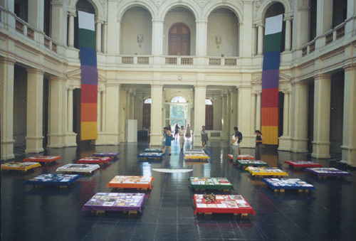 """Crosses of the Earth"", 2000, Museo de Arte Contemporaneo, Santiago de Chile"